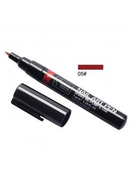 Ручка для 3D дизайну нігтів Blue Zoo 05 Dark Red