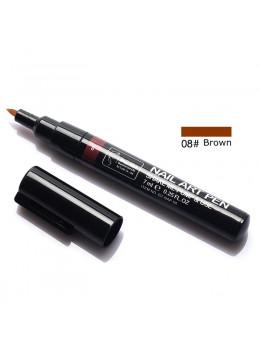 Ручка для 3D дизайну нігтів Blue Zoo 08 Brown