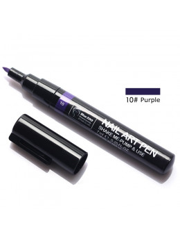 Ручка для 3D дизайну нігтів Blue Zoo 10 Purple