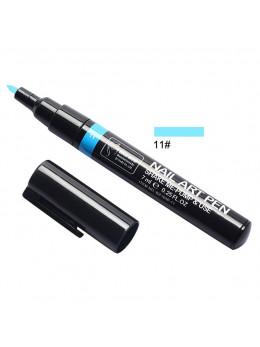 Ручка для 3D дизайну нігтів Blue Zoo 11 Аzure