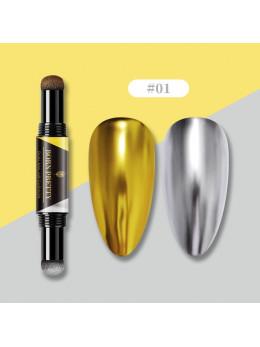 Втирка, пудра олівець Born Pretty Cushion Powder pen 001 (два кольори)