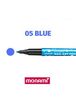 Ручка для дизайну нігтів Monami 05 Blue
