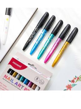 Набір ручок для дизайну нігтів Monami 8 шт.