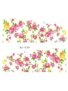 Слайдери для нігтів BZ-034