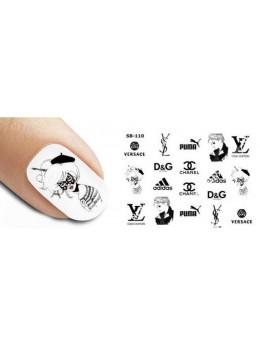 Слайдери для нігтів New Max SB-110