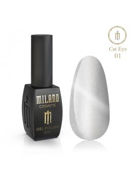Гель Лак Cat Eye Crystal 8 Мл № 01