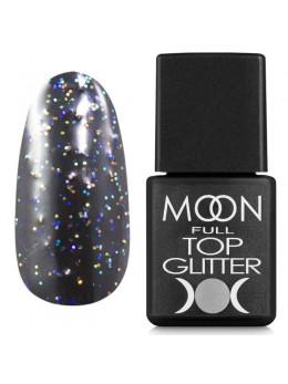 Moon Full Top Glitter Rainbow №01 - топ для гель лака, 8 мл.