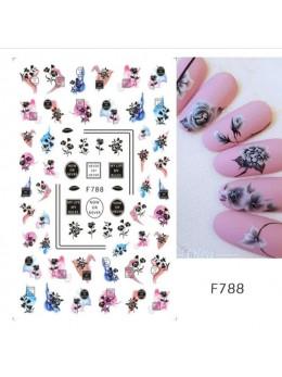 Слайдери для нігтів GLF-788