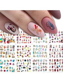 Слайдери для нігтів  BN-1621-12 штук
