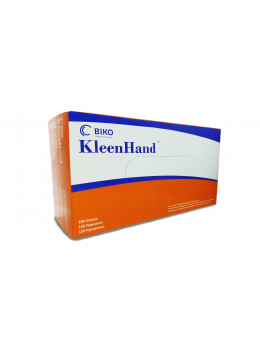 Рукавички нітрилові BIKO Kleen Hand, неопудрені, розмір M, 100 шт