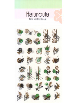 Слайдери для нігтів Harunouta W001