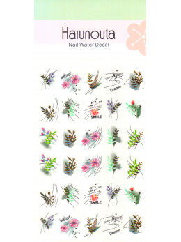 Слайдери для нігтів Harunouta W003