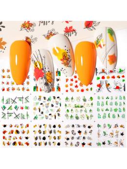 Слайдери для нігтів Harunouta D003 - 12 штук