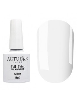Фарба для стемпінга Actuelle Nails Біла